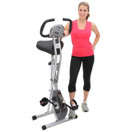 Exerpeutic Folding Magnetic Upright Bike Review- A super space-saving budget exercise bike